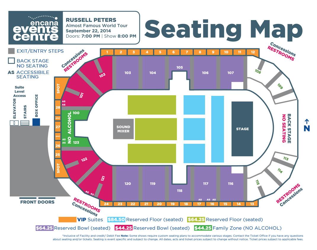 Encana Events Centre – Dawson Creek's Entertainment Centre ...
